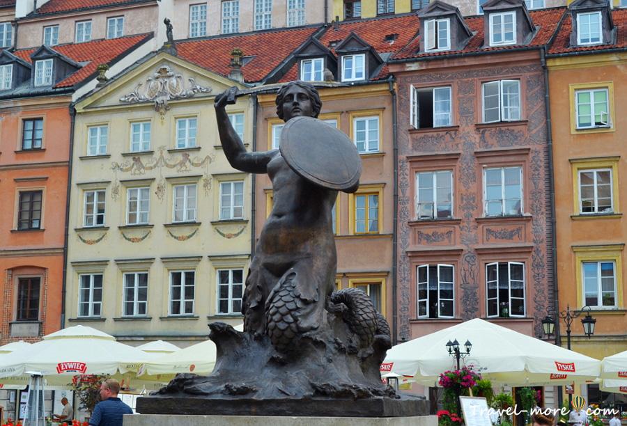 Памятник русалке в Варшаве, Варшавская Сирена