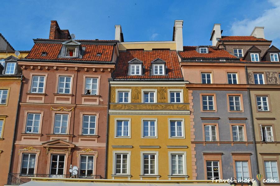 Ратушная площадь в Варшаве