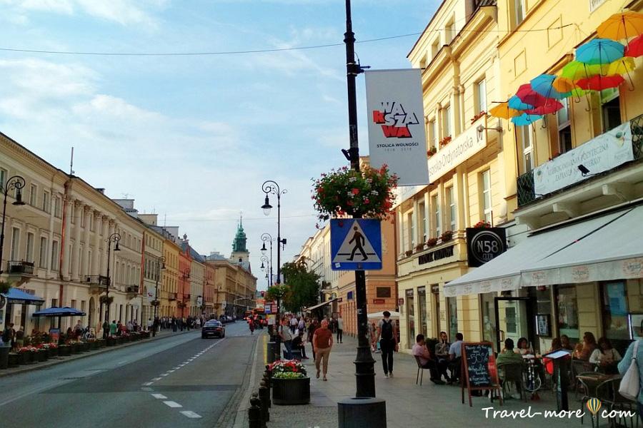 Краковское предместье в Варшаве
