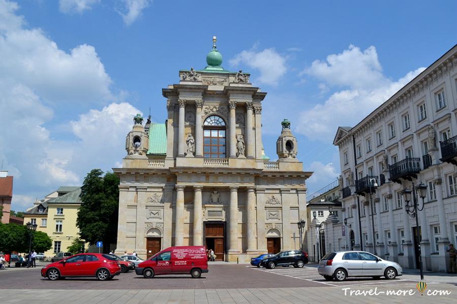 Костел успения Пресвятой Девы Марии и Святого Йозефа в Варшаве