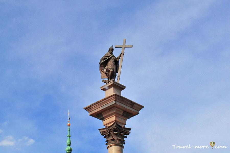 Памятник королю Сигизмунду III в Варшаве