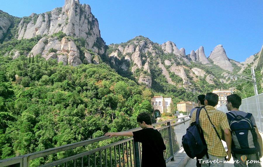 Как добраться до Монтсеррат из Барселоны
