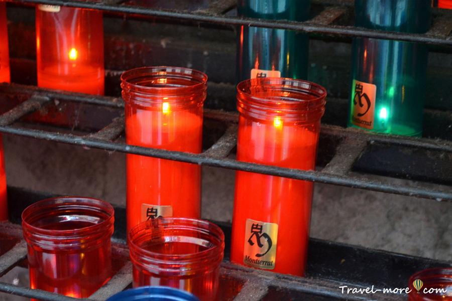 Свечи Монтсеррат