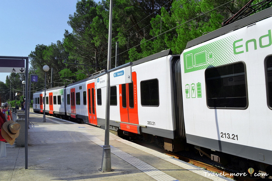 Поезд к Монтсеррат