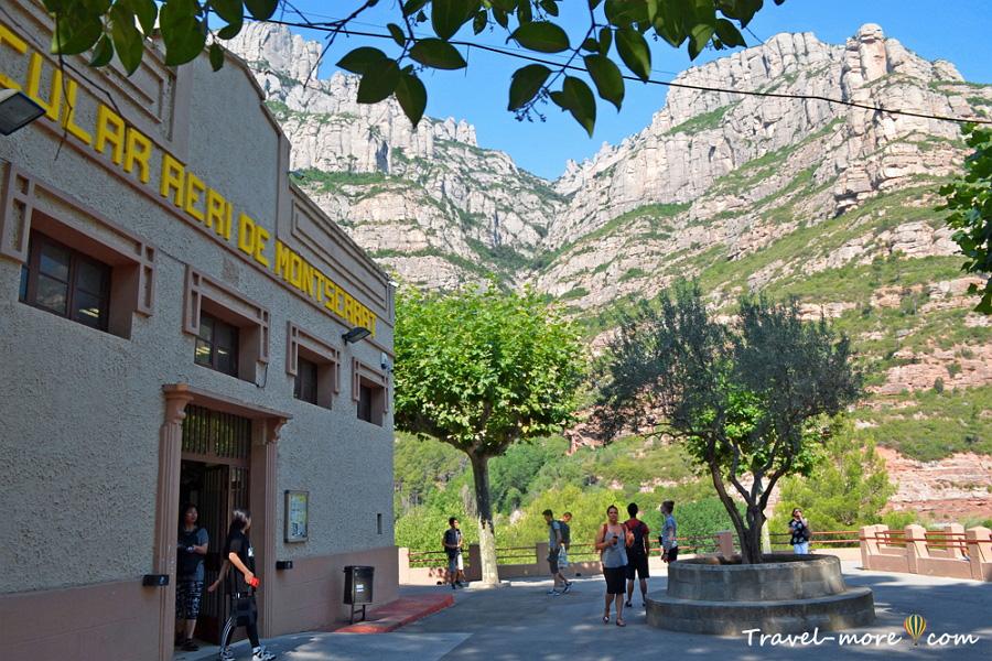 Канатная дорога Aeri de Montserrat