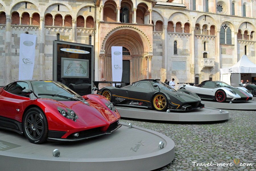 Модена выставка машин