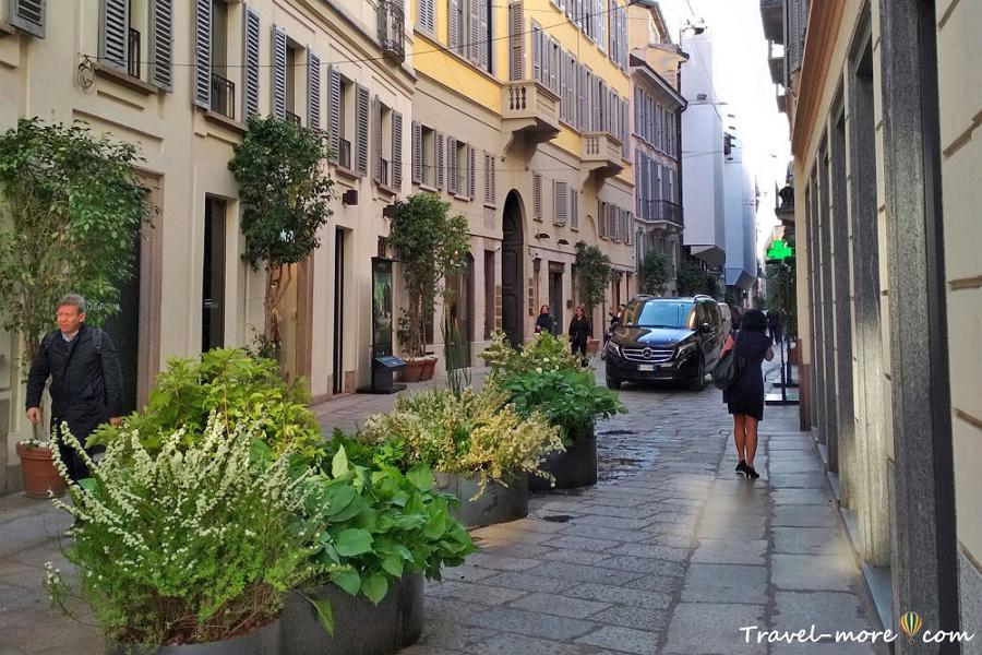 Улочки Милана