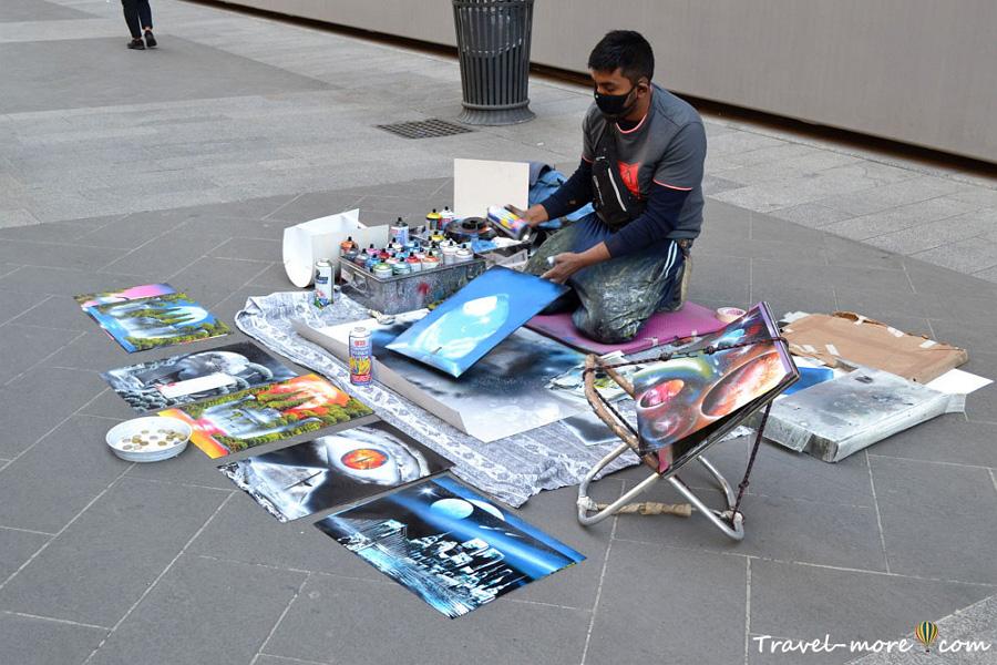 Уличное искусство в Милане