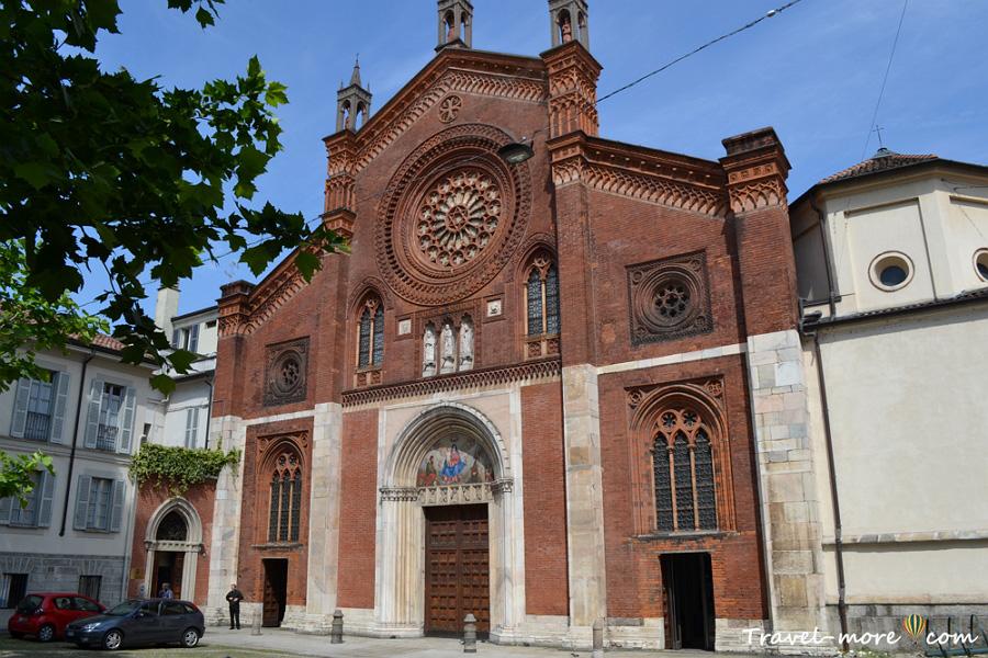 Церковь Святого Марка в Милане