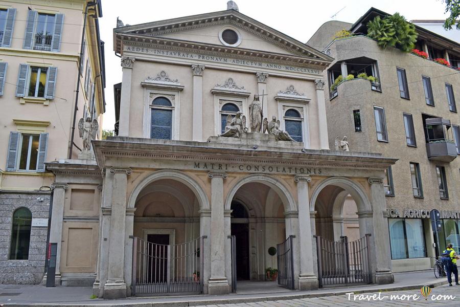 Церковь Санта-Мария делла Консолационе Милан