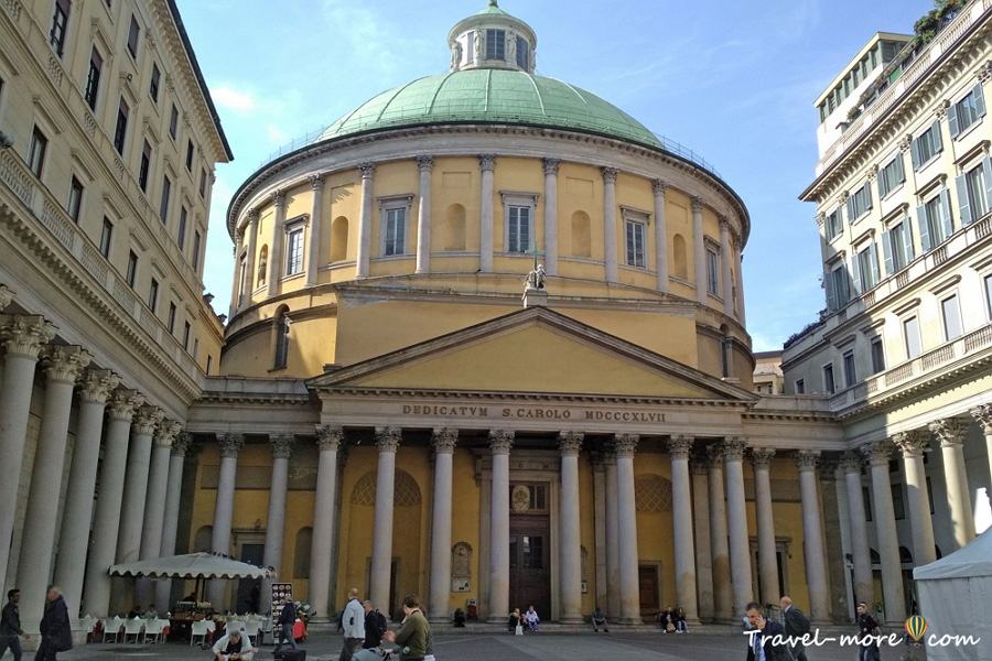 Церковь Сан-Карло-аль-Корсо в Милане