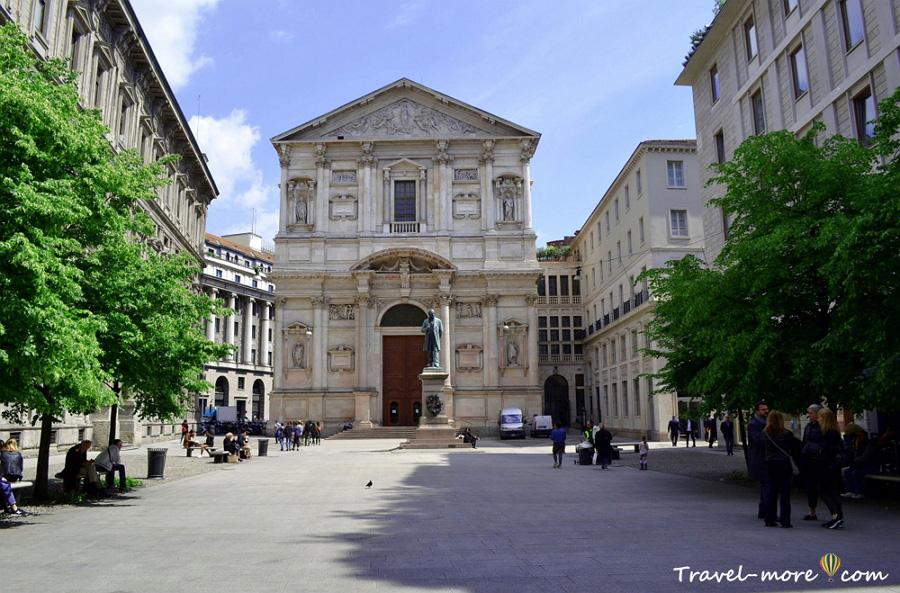 Церковь Сан Феделе Милан