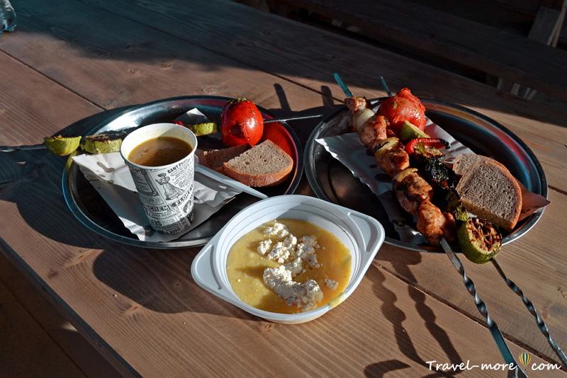 Еда в Карпатах