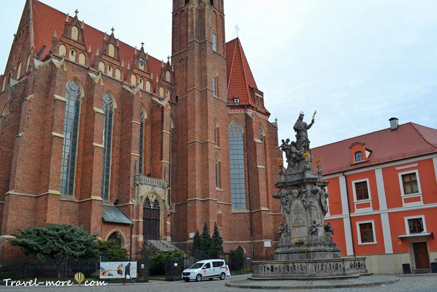 Костел Святого Креста и Святого Варфоломея Вроцлав