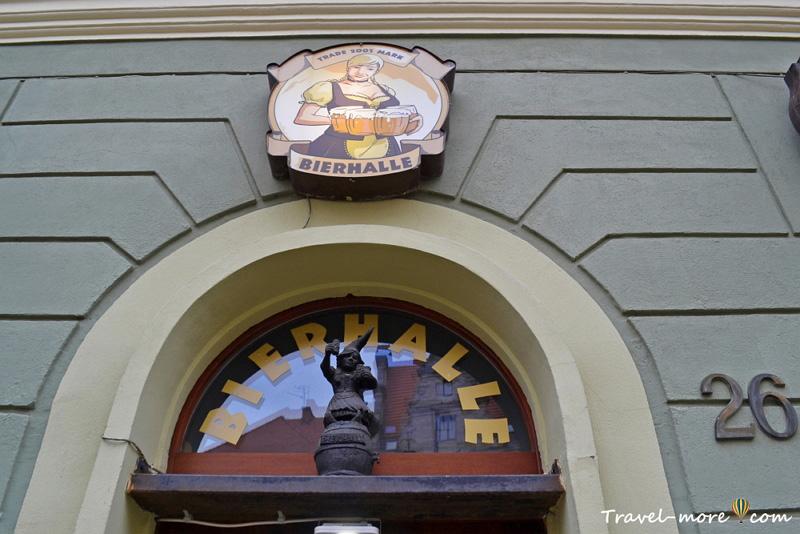 Гном Баварка во Вроцлаве