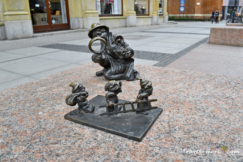 Гномы во Вроцлаве