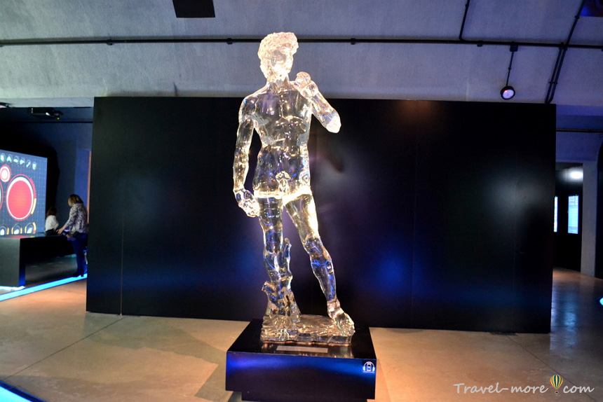Статуя Давида, музей воды Гидрополис